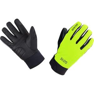 GORE WEAR C5 Thermo Handschuhe GORE-TEX, 5, Neon-Gelb/Schwarz