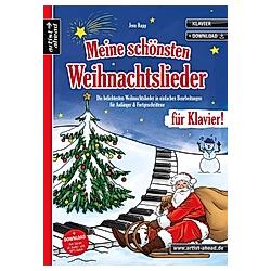 Meine schönsten Weihnachtslieder für Klavier!. Jens Rupp  - Buch