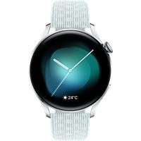 Huawei Watch 3 Smartwatch Nylon, 140-210 mm, Stainless Steel/Gray Blue Nylon Strap