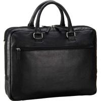 LEONHARD HEYDEN Berlin Special Kurzgrifftasche mit Laptopfach 40 cm Schwarz