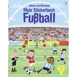Usborne Mein Stickerbuch Fußball 32138