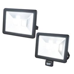 LED Fluter mit Bewegungsmelder, 100 Watt, 8000 Lumen, IP44