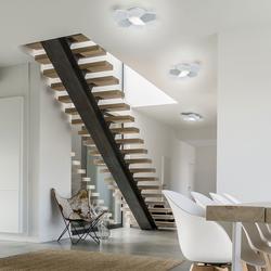 Grossmann Linde LED Wand- / Deckenleuchte, Dim-to-Warm
