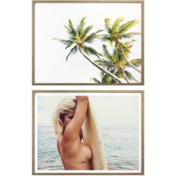 Poster Surfer Paradies, (Set)
