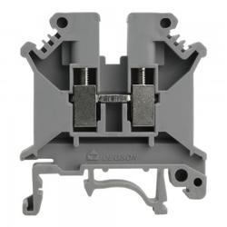 Reihenklemme 6mm2 Schraubklemme Grau VDE UL 3350