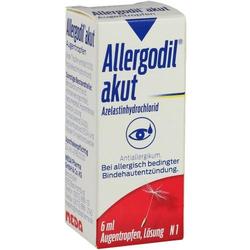 ALLERGODIL akut Augentropfen 6 ml