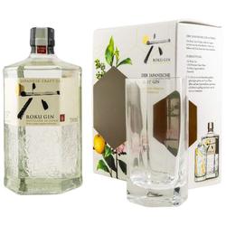 Roku Gin Geschenkbox incl.Glas