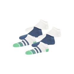 Elbeo Sneakersocken 3-Pack Cotton bunt 43-46