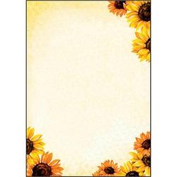 SIGEL Motivpapier Field of Sun Motiv DIN A4 90 g/qm 50 Blatt