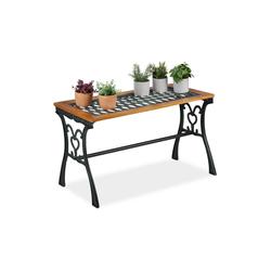 relaxdays Gartentisch Gartentisch rechteckig