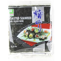 10 Yaki Sushi Nori Blätter für Sushi Seetang geröstet, 28g