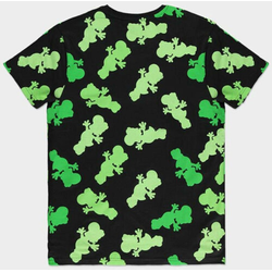 Nintendo T-Shirt Nintendo - Super Mario Yoshi AOP Men's T-shirt Neu Top