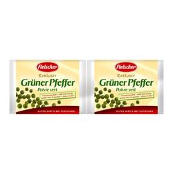 Grüner Pfeffer 2x45g - Fleischer