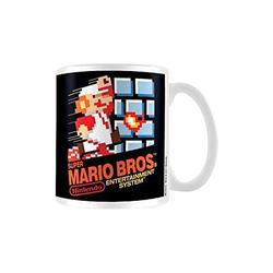 Spielfigur Super Mario Tasse - NES Cover