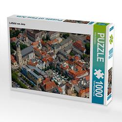 Luftbild von Jena Lege-Größe 64 x 48 cm Foto-Puzzle Bild von Prime Selection Kalender Puzzle