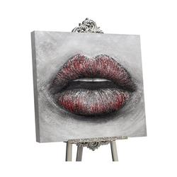 YS-Art Gemälde Sinnlicher Kuss II GML002