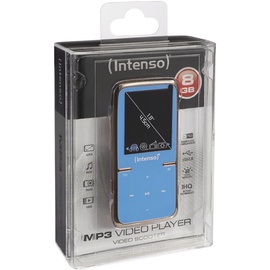 Intenso Video Scooter blau + 8GB Micro SD-Karte