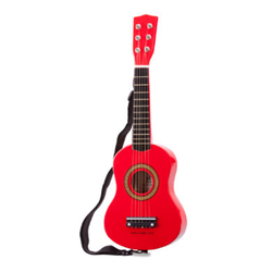 New Classic Toys Gitarre - Rot