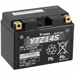 YUASA AGM YTZ14S 11,8Ah Motorradbatterie 12V (DIN 51101)