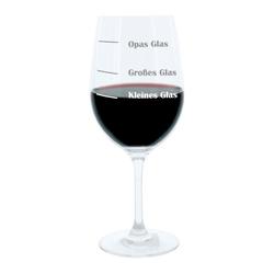 LEONARDO Weinglas XL, mit Gravur, Opas Glas, Geschenk