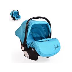 Moni Babyschale Babyschale Gala, Gruppe 0+, 3 kg, (0 - 13 kg), Sitzpolster, Fußabdeckung blau