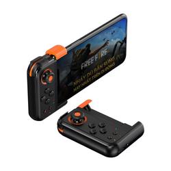 Baseus Baseus Handyspiel Einhand-Gamepad kabelloser Game Mobile Controller Gamepad Joystick Pad für Smartphones Handy Android & iOS Smartphone-Halterung