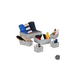 relaxdays Aufbewahrungskorb Aufbewahrungskorb 6er Set