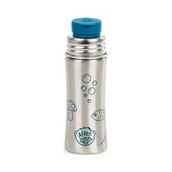 Affenzahn Trinkflasche Edelstahl Trinkflasche Lila, 330 ml blau