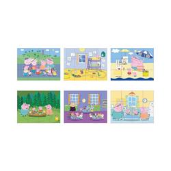 Eichhorn Würfelpuzzle Peppa Pig Würfelpuzzle, 12 Teile, Puzzleteile