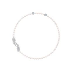 Swarovski Kette mit Anhänger NICE PEARL, 5493403, mit Swarovski® Kristallen und Swarovski® Perlen