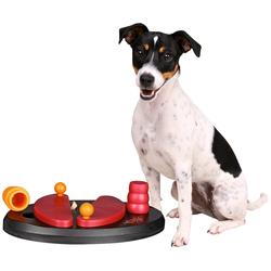 Trixie Hundespielzeug Push Away Strategiespiel rot