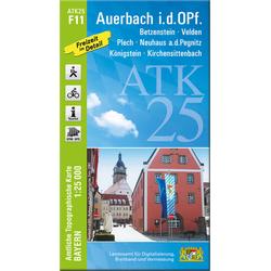 Auerbach in der Oberpfalz 1 : 25 000
