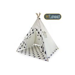 Hej Lønne Tipi-Zelt Tipi Zelt für Kinder Baum Muster Indianerzelt