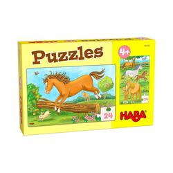 Haba Puzzle Puzzles Pferde, Puzzleteile