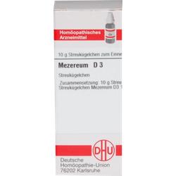 MEZEREUM D 3 Globuli 10 g