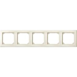 Merten 484544, M-SMART-Rahmen, 5fach, weiß