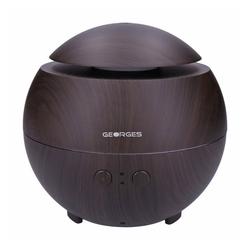 GEORGES Diffuser Round Aroma Diffuser Wood 600ml Dark Wood