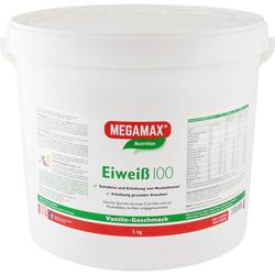 Megamax Eiweiss 100 Vanille Pulver