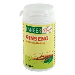GINSENG 200 mg Lecithin Kapseln 1 g