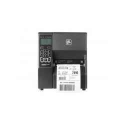 Zebra ZT230 Etikettendrucker Thermopapier Rolle 11,4 cm 203 dpi bis zu 152 mm/Sek. USB seriell Wi-Fin Abrisskante (ZT23042-D0EC00FZ)
