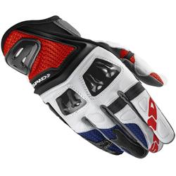 Spidi Jab RR Gloves, white-red-blue, Größe 3XL