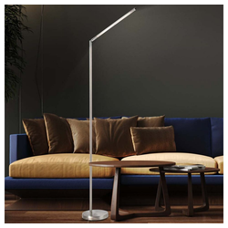 etc-shop Stehlampe, Stehlampe LED Gelenk modern Bodenlampe Wohnzimmer Stehleuchten, Gelenk matt, 1x LED 6 Watt 480 Lumen warmweiß, H 160 cm