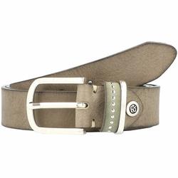 b.belt Fashion Basics Cleo Gürtel Leder olive 100 cm