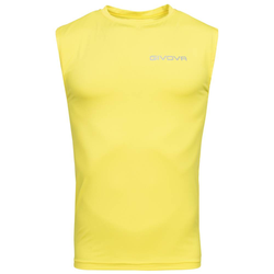 "Funkcjonalna koszulka Givova Tank Top ""Corpus 1"" żółta - XL"