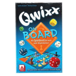 Nürnberger Spielkarten Spiel, Nürnberger-Spielkarten Qwixx on Board (DE/EN/ES/FR