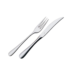 WMF Steak- /Grillbesteck 4 Teile blanker Stahl