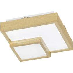 WOFI HUDSON 9042.01.51.8000 LED-Deckenleuchte Holz 24W