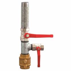 PUTEUS Doppelter Pumpenstock, Handpumpenanschluss 31,75mm (1 1/4