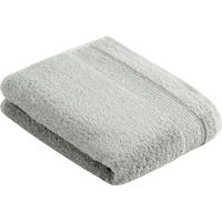 VOSSEN Duschtuch Balance (1-St), antibakteriell durch Hanf grau 67 cm x 140 cm