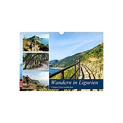 Wandern in Ligurien (Wandkalender 2021 DIN A4 quer)